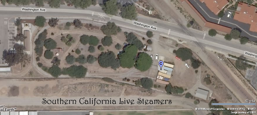 Southern California Live Steamers Aerial View