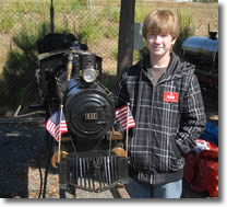 Charlie and the American 4-4-0 Locomotive