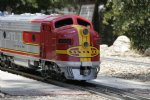Picture Title - Santa Fe F7 Locomotive #11500