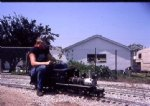"Picture Title - 1 1/2"" scale narrow gauge 2-6-0 (summer 1985)"