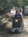 Picture Title - SCLS makeup artist Steve Claude takes the throttle of C&P 70 Ton.